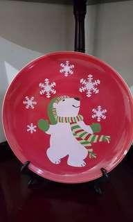 Christmas Plate Display