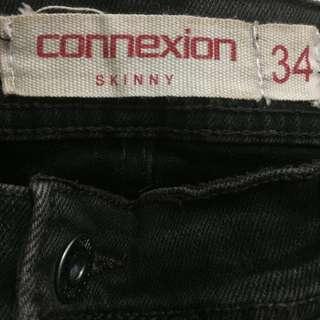 Jeans connexion size 34 dark brown