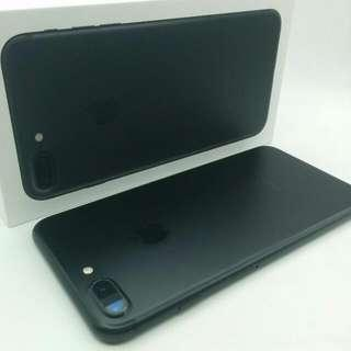 Matt Black Apple iPhone 7 Plus Sg Full Set  MHSEP