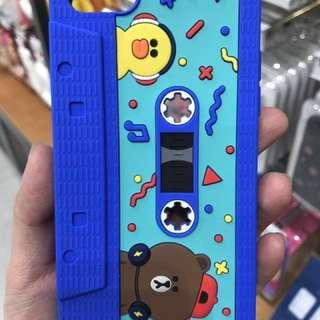 Line friends 正版iPhone 7 case 手機軟殻