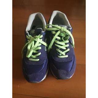 🚚 New balance574深紫色慢跑鞋