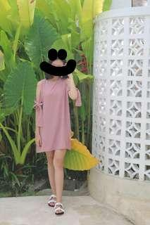 PINK BLOUSE/DRESS
