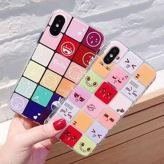 funny face phone case (soft tpu)