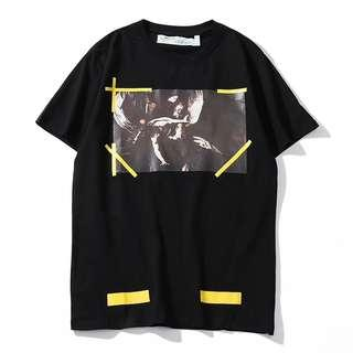 Off White TM Angel Graphic T Shirt