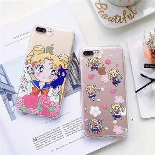 sailor moon phone case (soft tpu)