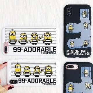 minion phone case (silicon cover)