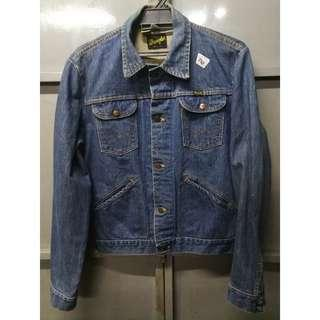 Wrangler denim jacket xs