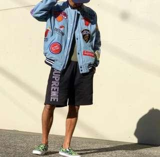 Supreme NBA Jacket Denim