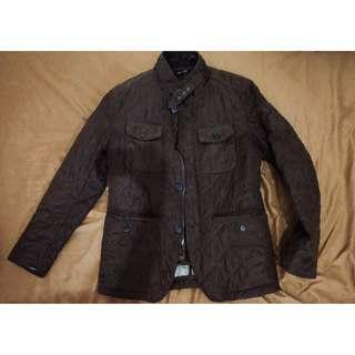Zara Coat Detachable vest – Brown 6 pockets size S