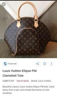 Louis Vuitton ellips