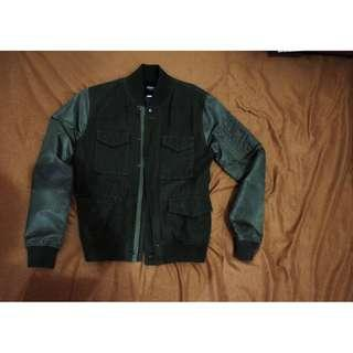 Sixteen Denim Scale /16DS Jacket – Green
