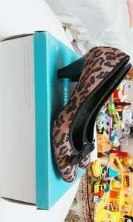 Comfort Plus (Payless) Leopard Heels