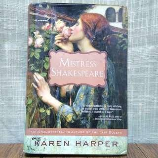 Mistress Shakespeare by Karen Harper (Hardbound)