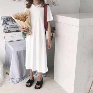 Plain tshirt Dress