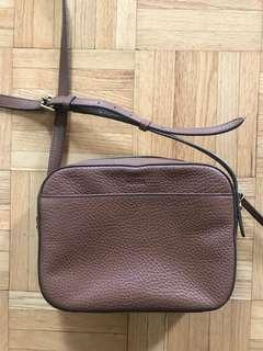 fossil tan crossbody
