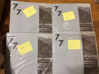 GOT7 7for7 7 for 7 Winter Edition Albums