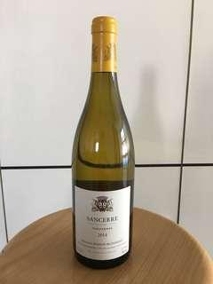White wine- Sancerre Thauvenay 2014