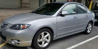 2006年  Mazda3天窗頂級  S版