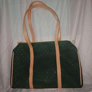 Green Stars Shoulder Bag