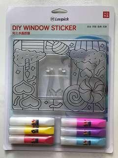 DIY Window Sticker <Candy>