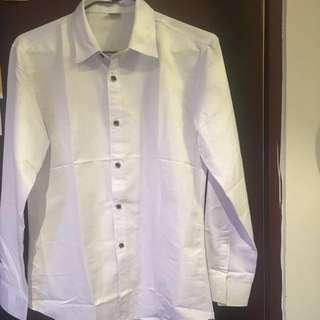 素面襯衫(男)XL