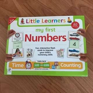 My First Numbers Flash Cards