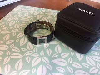 Chanel Matelasse Quartz Women's Leather Strap watch