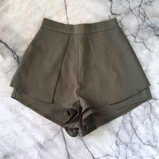Khaki dressy shorts 6