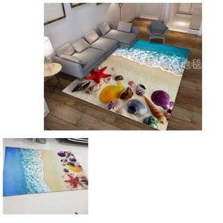 2m x 1.4m brand new 3D carpet