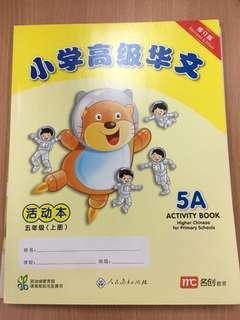 P5 Chinese & Higher Chinese workbook