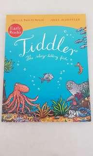 Tiddler the story-telling fish (julia donaldson) (price include mailing)