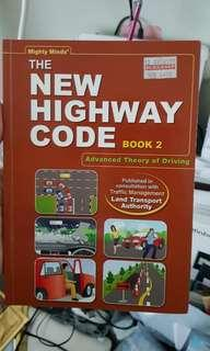 🚚 New highway code book2 (FTT/ Advanced Theory of Driving book)