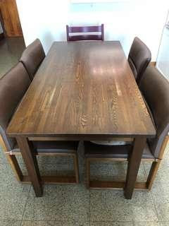 Solid Wood Dining Table for $50 - MUST GO!!