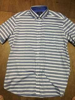 Marks and Spencer Striped Oxford