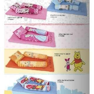 Brandnew Dakki Disney Infant Mattress w/ Pillow and Bolster Set