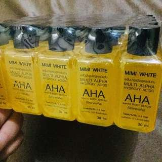 Mimi White AHA Body Serum (Authentic with SerialCode and Expiry Date)