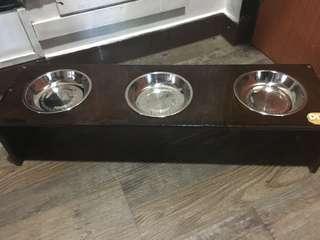 Trio Cat Feeder