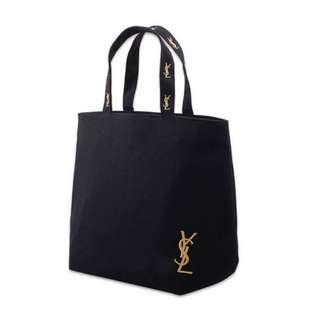 Instock! YSL Parfum Perfume Tote Bag Black *GWP* ASC 334 + FREE Normal Mail