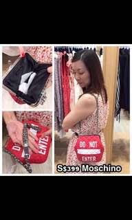 BN limited edition Authentic Moschino bag
