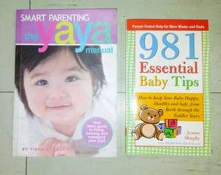 Lot of 2: Parenting Book & Baby Book