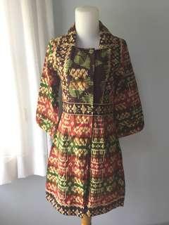 Ethnic office dress
