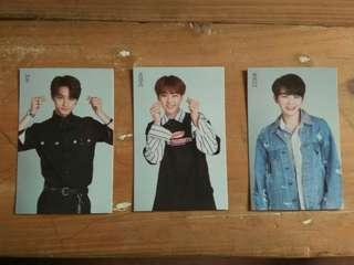 SEVENTEEN IDEAL CUT TRADING CARDS