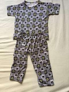 Batman terno tshirt-pajama