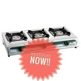 Butterfly Triple gas stove