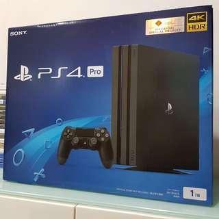 (BNIB) PS4 Pro 1TB
