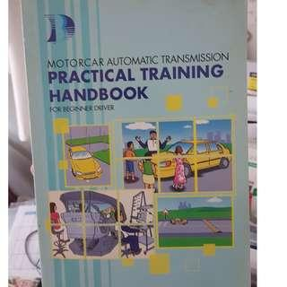 🚚 Driving P3A Practical Training Handbook for beginner drivers (Automatic Transmission)