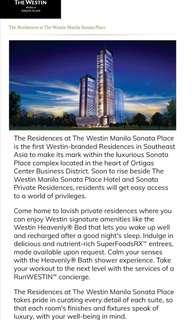 The Residences at The Westin Manila Ortigas