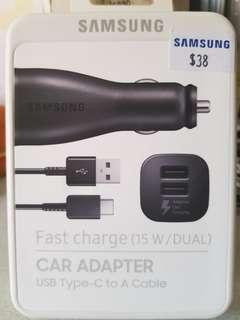 BNIB Samsung Car Adapter