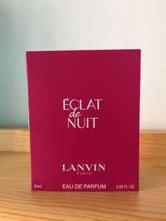 Lanvin 香水 perfume sample