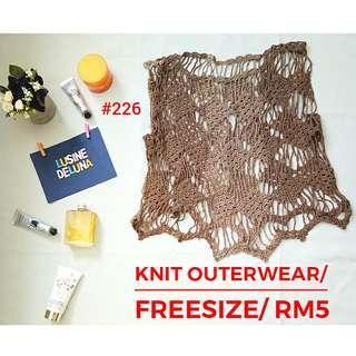 Knit Outerwear #226